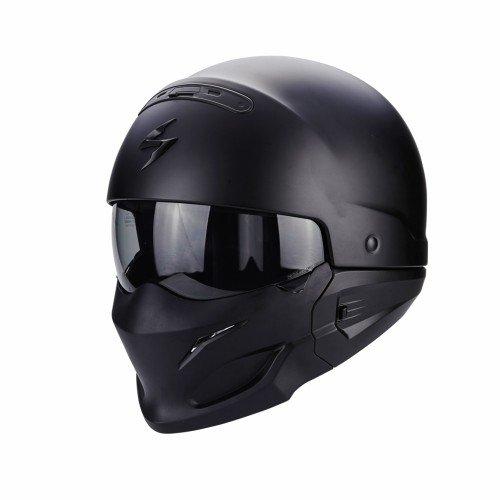 scorpion casque moto exo combat noir taille m 1 - Casque scorpion, les 5 meilleurs