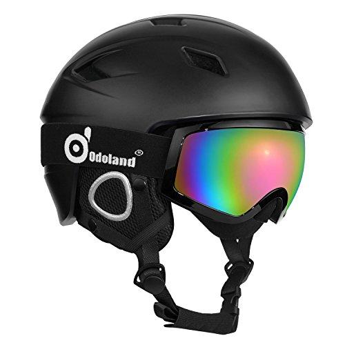 casque de ski avec lunettes de ski casque et lunettes de sport unisex pour 2 1 - Casque homme, les 5 meilleurs