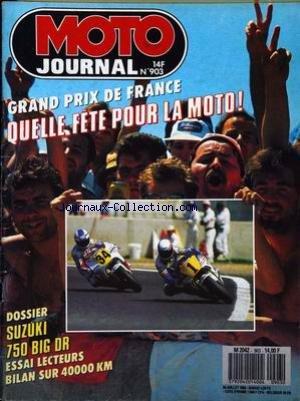 moto journal no 903 du 20071989 grand prix de france quelle fete pour 1 - quel moto pour les grands - guide d'achat